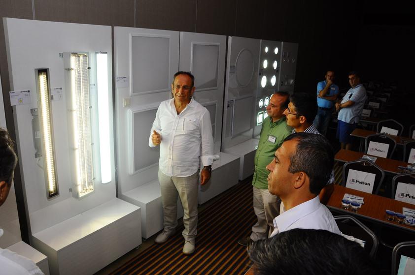 Pelsan Aydınlatma' nın LED teknolojisini anlattığı LED Aydınlatma Seminerleri' nin son durağı Antalya oldu…